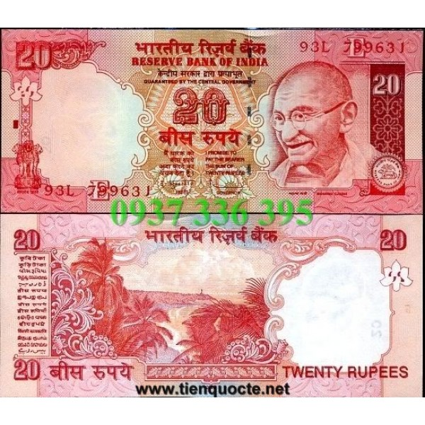 MS91 :India 20 Rupees 2009