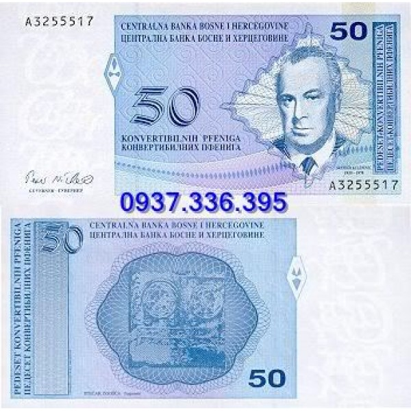 MS373:Bosnia and Herzegovina 50 Pfeniga 1998