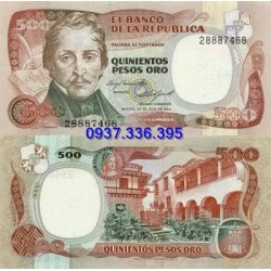 MS398: Colombia 500 Pesos 1984