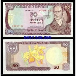 MS396: Colombia 50 Pesos 1983